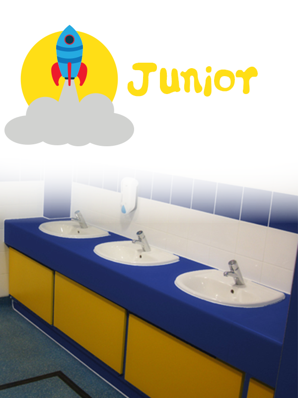 Junior school vanity units